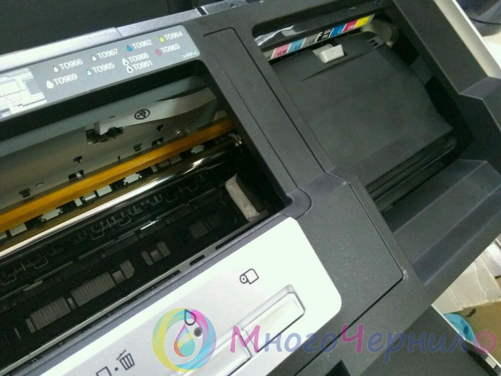 прочистка печатающей головки epson l110 своими руками