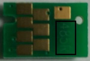 Чип для картриджа Epson T485