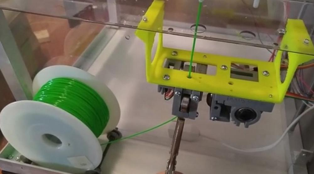 Rhino Smart установленный в 3D-принтер