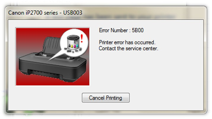 Программу Canon Service Tool