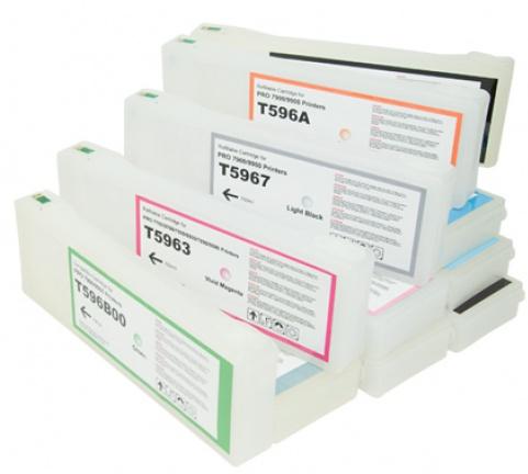 Перезаправляемые картриджи для Epson Stylus Pron 7900 и 9900