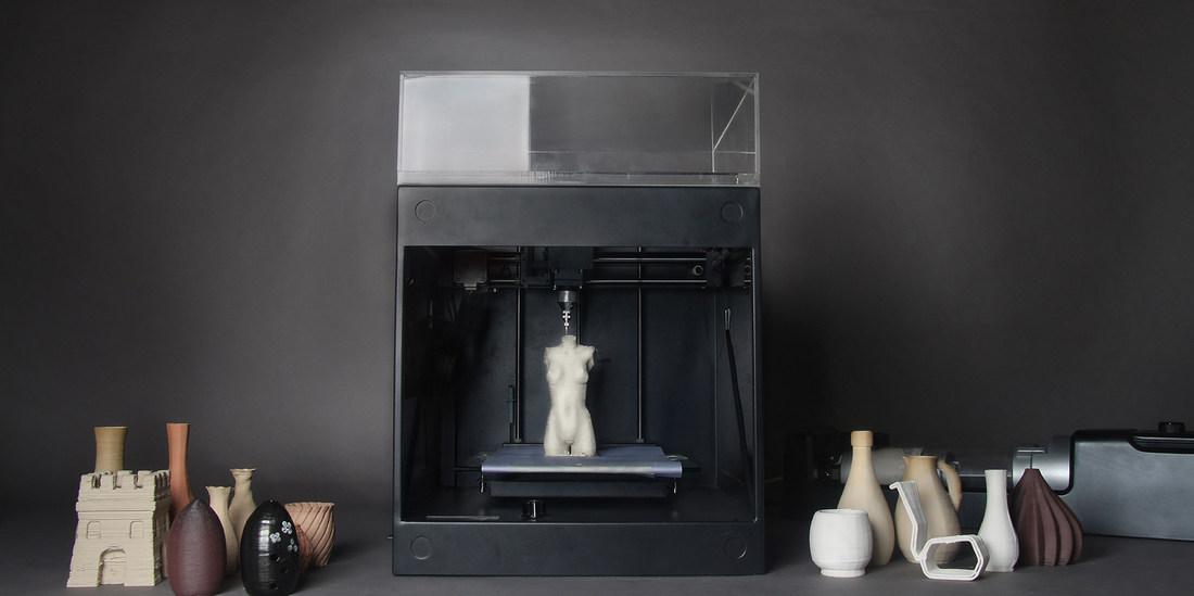 3D-принтер для глины ClayXYZ