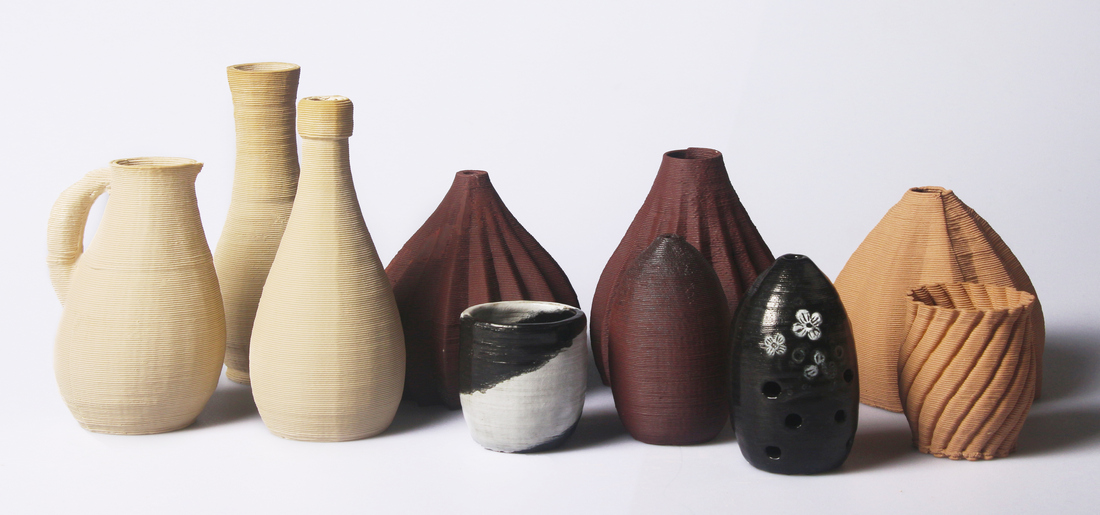 Керамические изделия сделанные в ClayXYZ