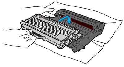 Тонер и драм-картриджи для монохромного лазерного принтера