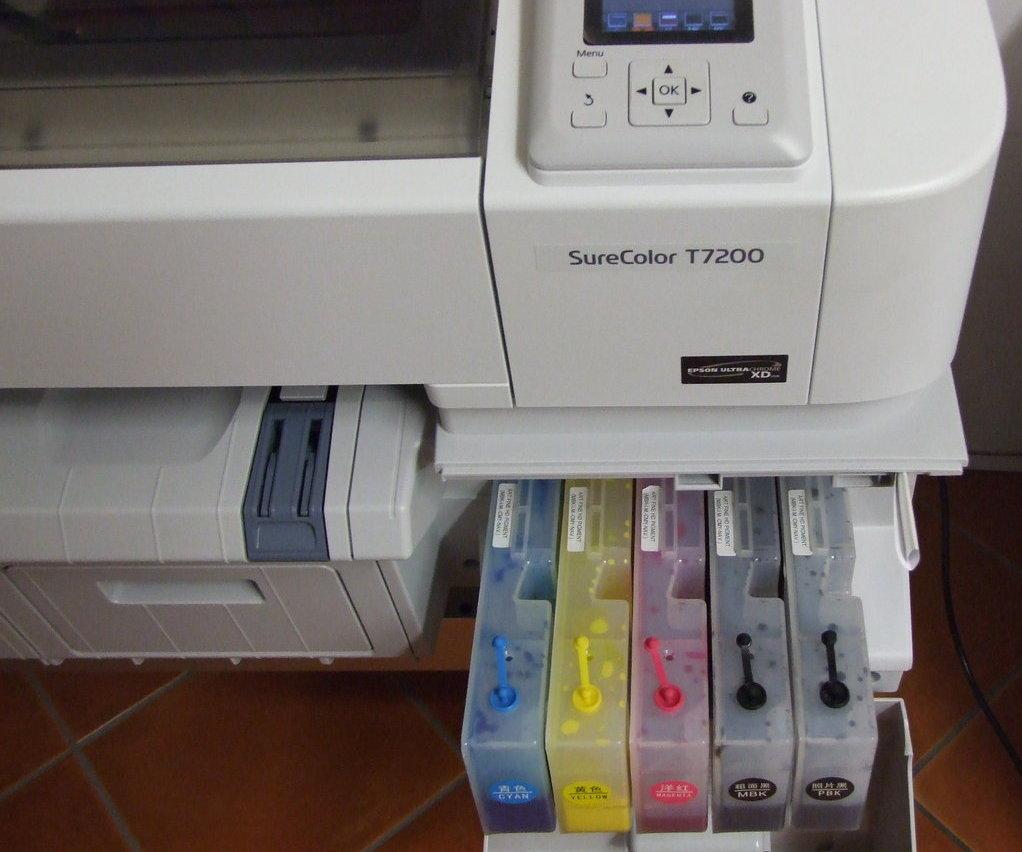 ПЗК для Epson SureColor SC-T7200