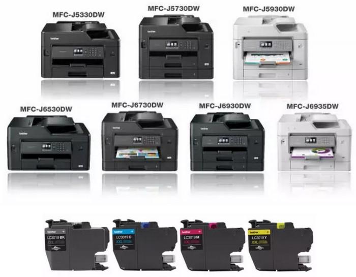 Линейка принтеров Brother с картриджами 3-го поколения