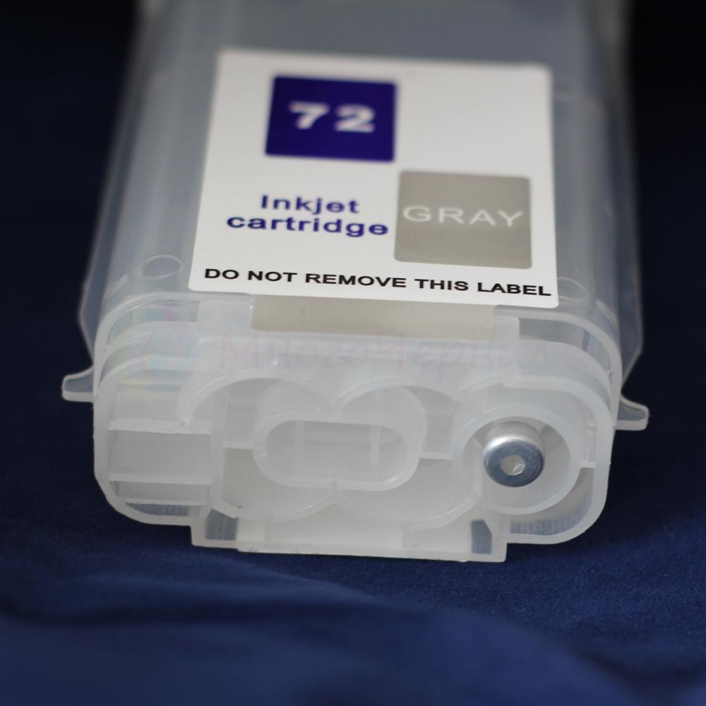 Вид снизу перезаправляемого картриджа типа DJ5 (помпы нет)