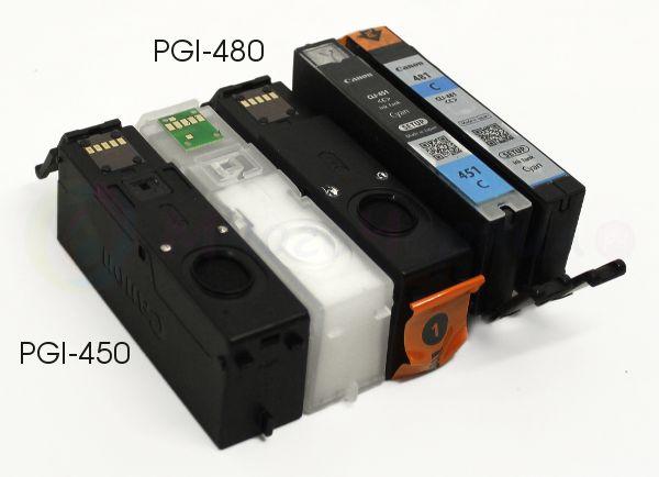 Картриджи PGI-480, PGI-450, CLI-481, CLI-451 – фото