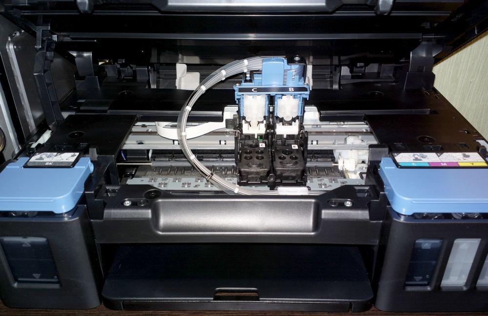 Печатающая головка на Canon G-серии