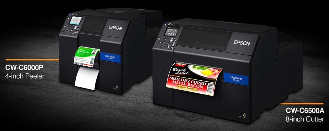 Epson ColorWorks на C6000 и C6500