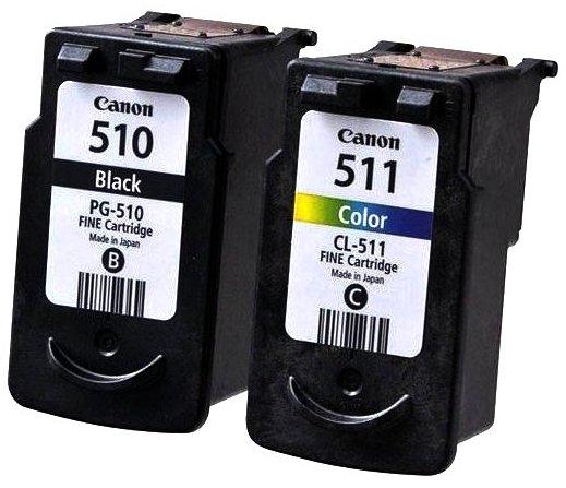 Картриджи PG-510 и CL-511