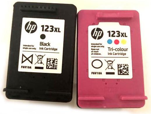 Картриджи HP 123