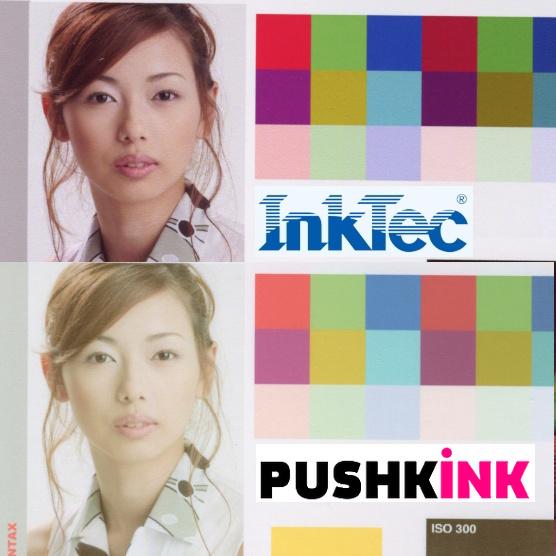 Сравнение Pushkink и InkTec