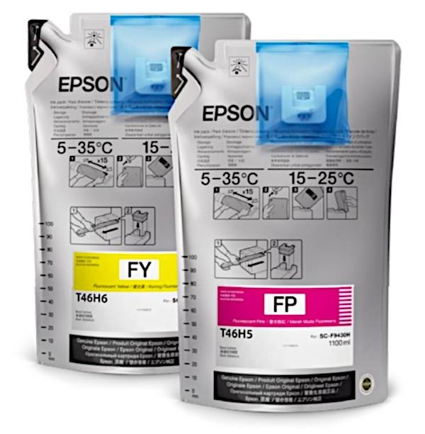 Флуоресцентные чернила Epson