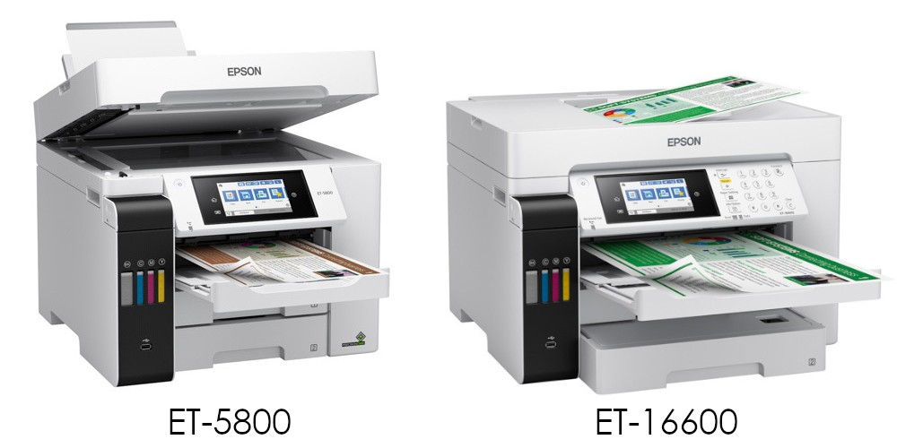 Epson ET-5800 и ET-16600