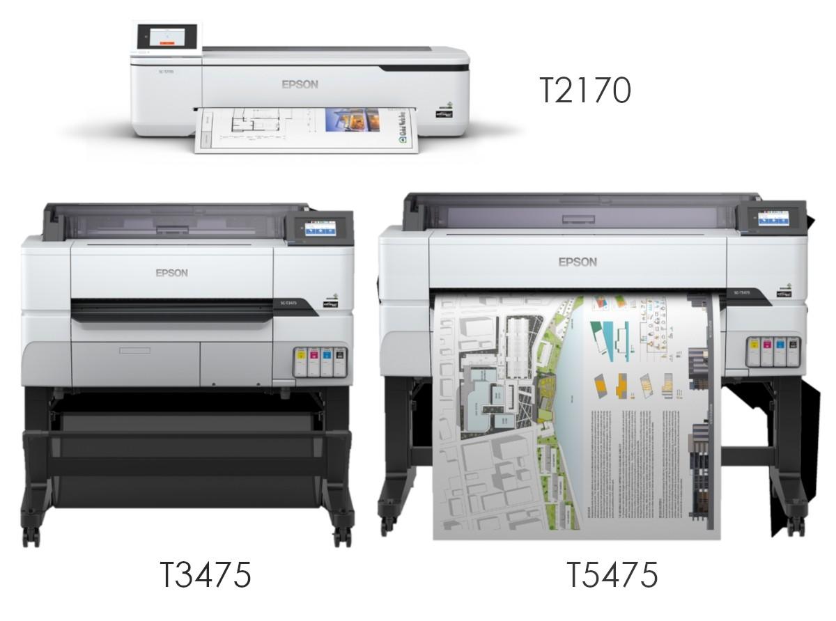 Epson T2170, T3475, T5475
