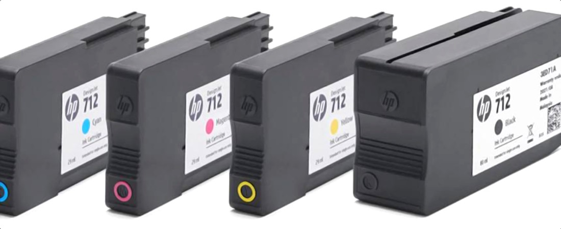 Картриджи HP 712
