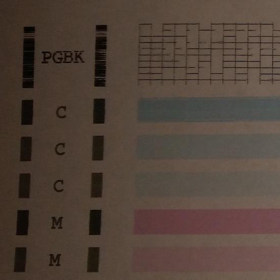 Не пропечатывается PGBK