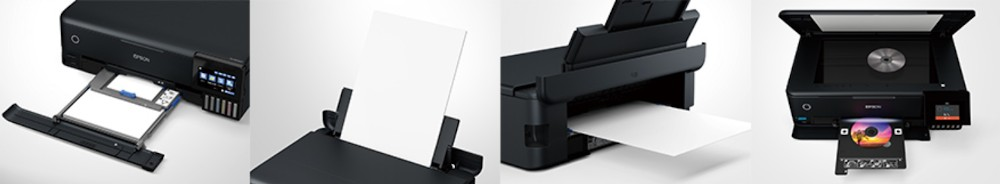 Загрузка бумаги в Epson EW-M873T и EW-M973A3T