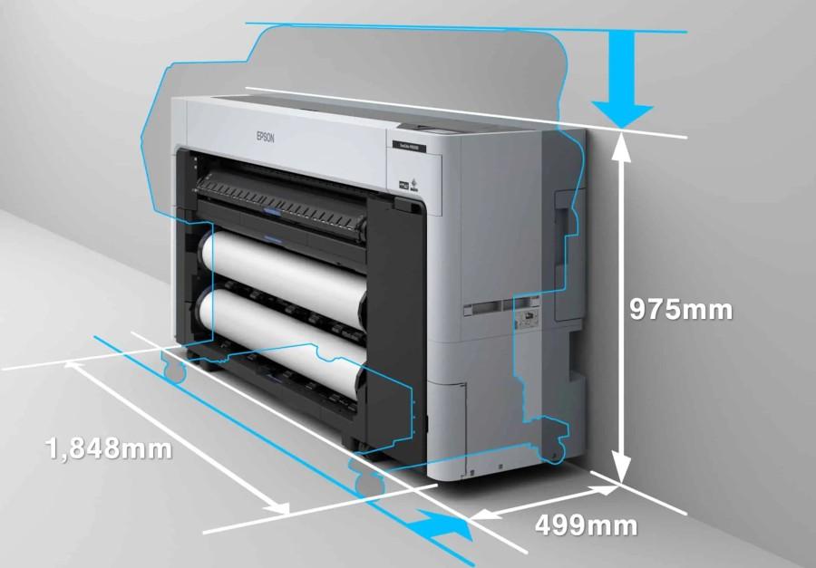 Размеры Epson SC-8500D