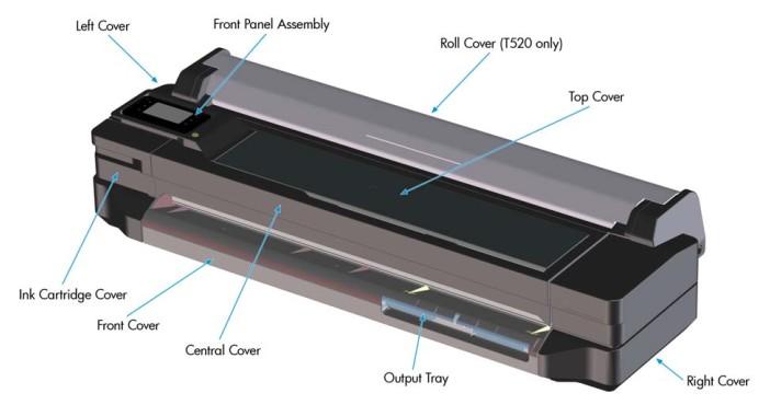 Сервисная инструкция (сервис мануал) для HP T120, T520