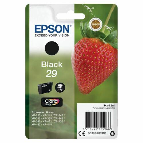То есть у вас оригинальные картриджи Epson сейчас